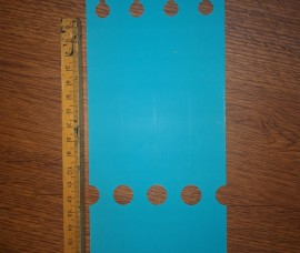 Eticheta polimec 25x200 mm